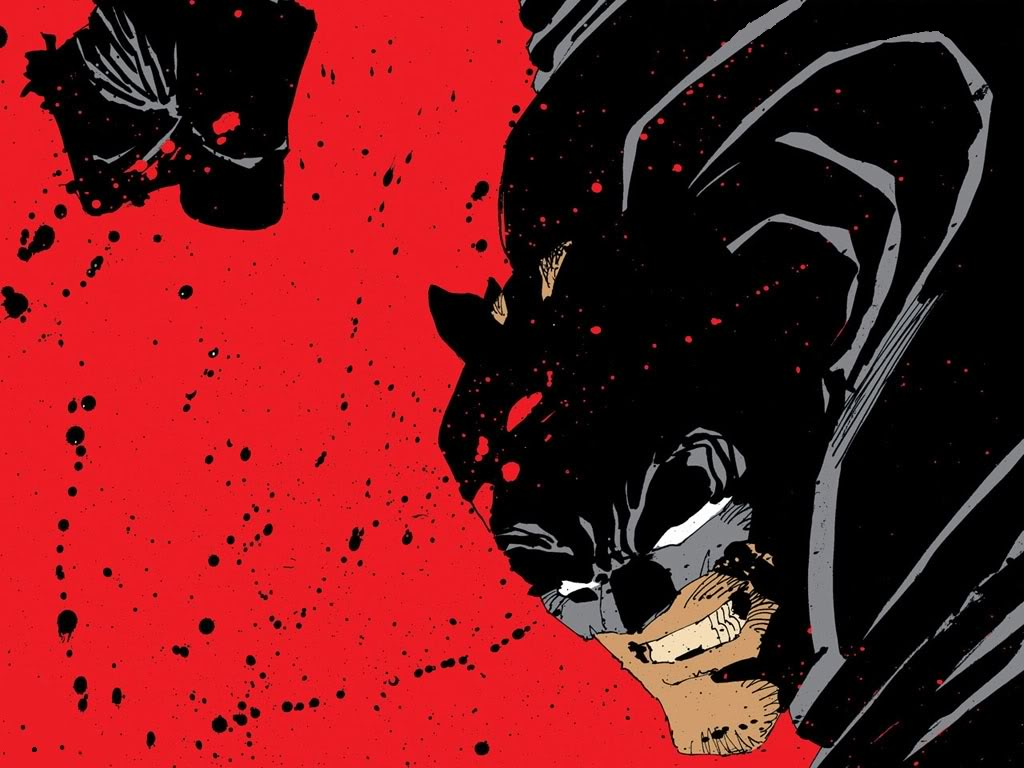 Frank Miller Dark Knight Panel